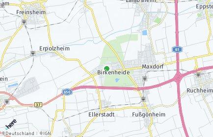 Stadtplan Birkenheide