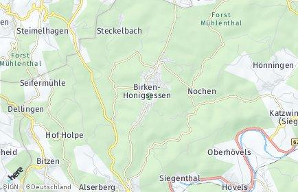 Stadtplan Birken-Honigsessen
