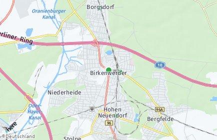 Stadtplan Birkenwerder