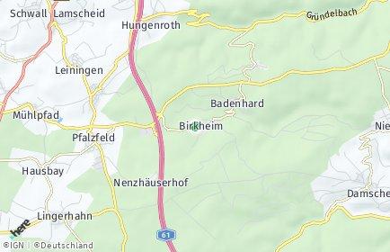 Stadtplan Birkheim