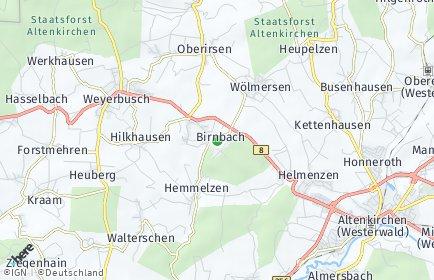 Stadtplan Birnbach