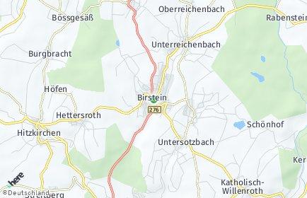 Stadtplan Birstein