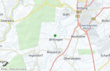 Stadtplan Birtlingen