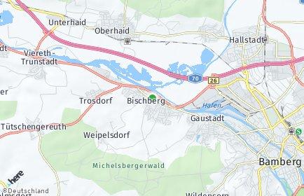 Stadtplan Bischberg