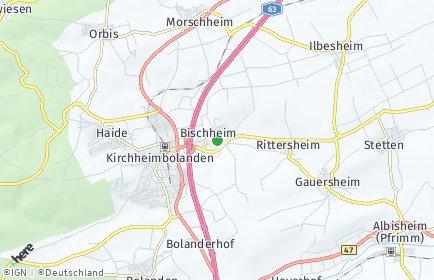 Stadtplan Bischheim