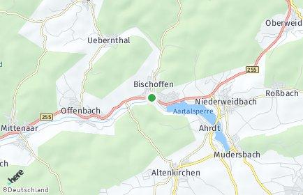 Stadtplan Bischoffen