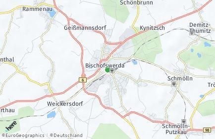 Stadtplan Bischofswerda
