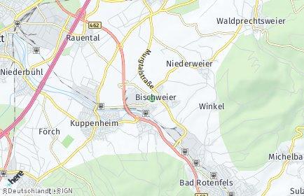 Stadtplan Bischweier