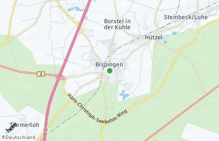 Stadtplan Bispingen