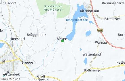 Stadtplan Bissee