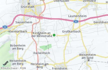Stadtplan Bissersheim