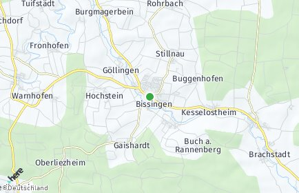 Stadtplan Bissingen (Bayern)