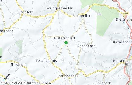 Stadtplan Bisterschied