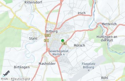 Stadtplan Bitburg