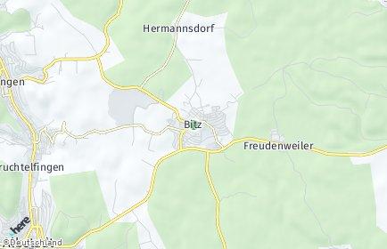 Stadtplan Bitz