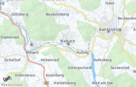 Stadtplan Blaibach
