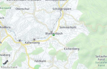 Stadtplan Blankenbach