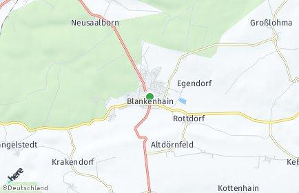 Stadtplan Blankenhain