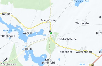 Stadtplan Blankensee (Mecklenburg)