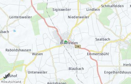 Stadtplan Blaufelden