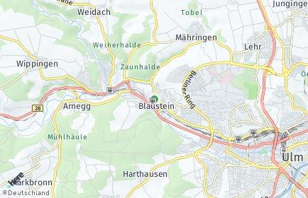Stadtplan Blaustein