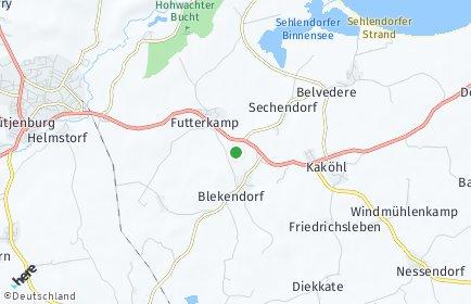 Stadtplan Blekendorf