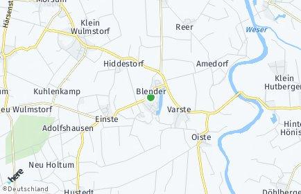 Stadtplan Blender OT Gahlstorf