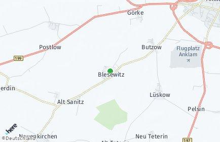 Stadtplan Blesewitz