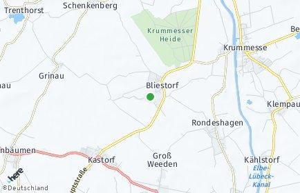 Stadtplan Bliestorf