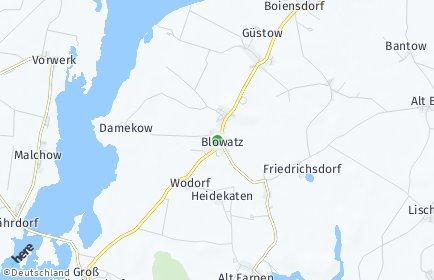 Stadtplan Blowatz