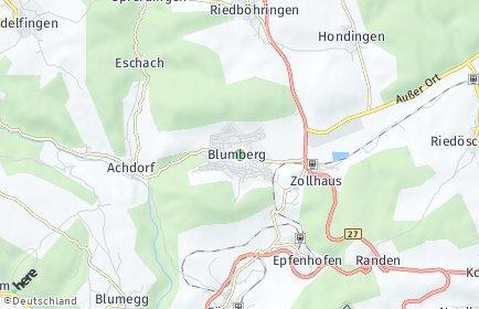 Stadtplan Blumberg