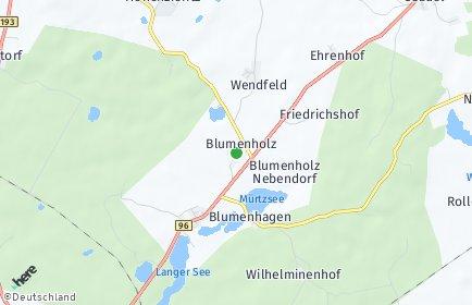 Stadtplan Blumenholz