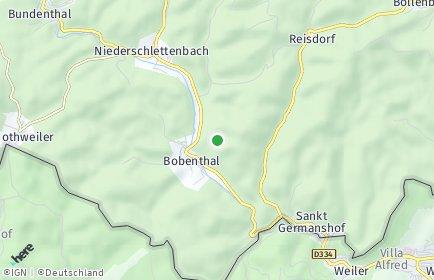 Stadtplan Bobenthal