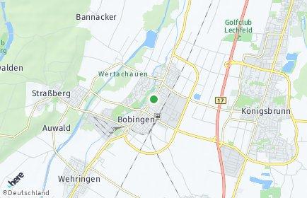 Stadtplan Bobingen