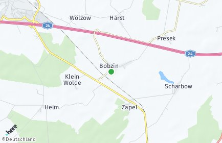 Stadtplan Bobzin