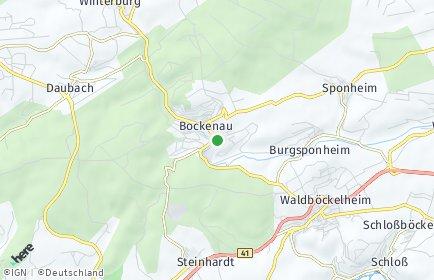 Stadtplan Bockenau