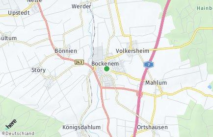 Stadtplan Bockenem