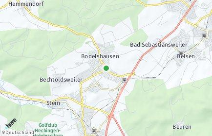 Stadtplan Bodelshausen
