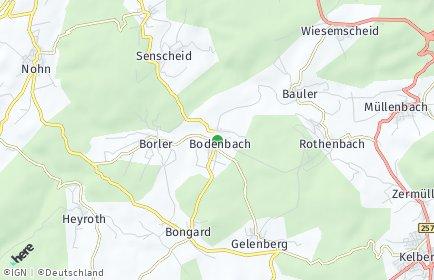 Stadtplan Bodenbach