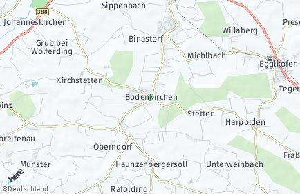 Stadtplan Bodenkirchen