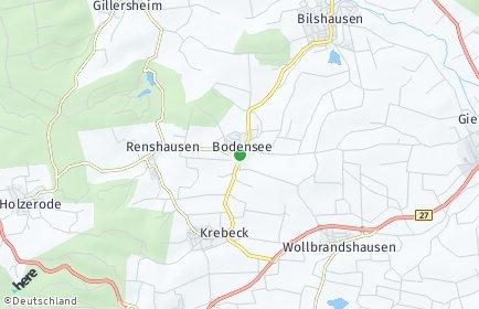Stadtplan Bodensee
