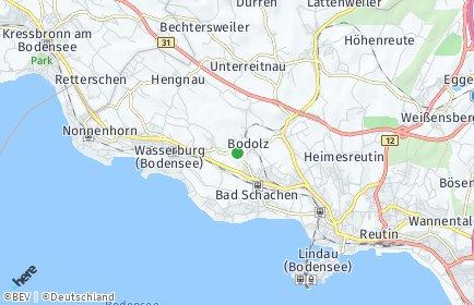 Stadtplan Bodolz