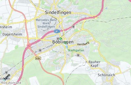 Stadtplan Böblingen