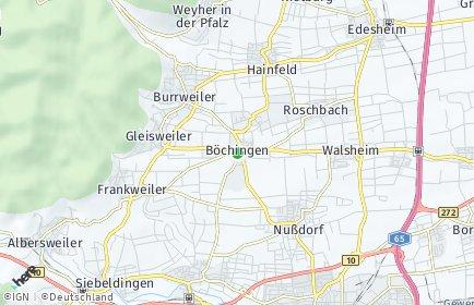 Stadtplan Böchingen