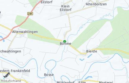 Stadtplan Böhme