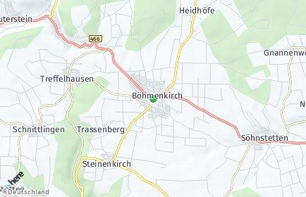 Stadtplan Böhmenkirch OT Schnittlingen