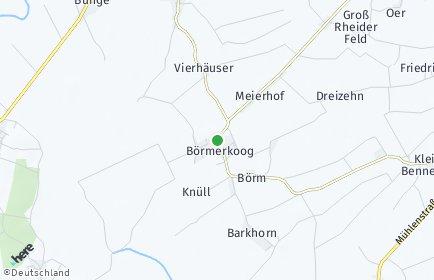 Stadtplan Börm