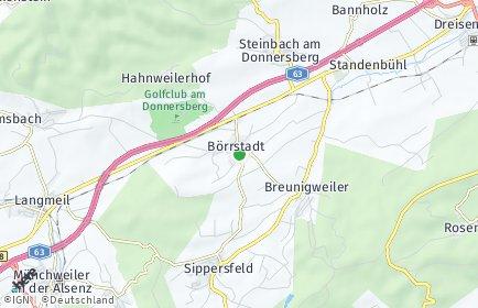 Stadtplan Börrstadt