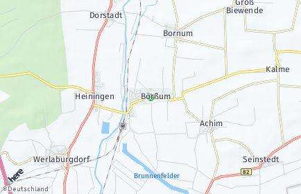 Stadtplan Börßum