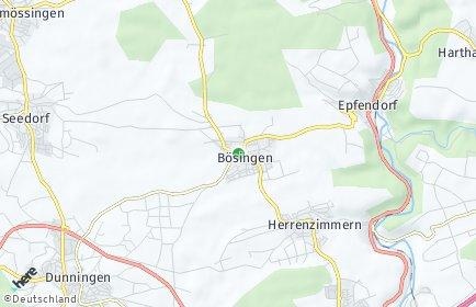 Stadtplan Bösingen